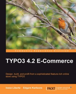 TYPO3 4.2 E-Commerce book cover image